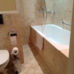 o tal banheiro com piso aquecido, uma alegria para os pés!