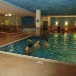 Indoor pool - jacuzzi