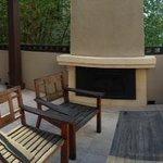 Sweet balcony for enjoying the great LA weather!