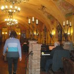 Restaurant and piano man