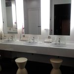 Vanity at toilet/bathroom area