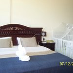 Master bedroom with crib