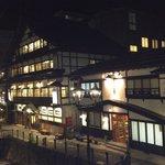 長澤平八さん二階からの風情ある眺め