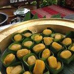 Med Kanoon, taditional Thai dessert