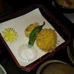 Yum fried fish cake