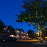 Night Time at the Santa Fe Sage Inn
