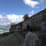 A view from along the Casbah wall outside