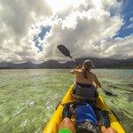 Kane'ohe Bay paddle