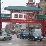 Main entrance to Chinatown.