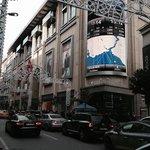 mall em frente ao hotel