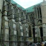 Cathedrale de Chartres: Francia: archi e contrafforti