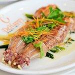 steamed mantis prawn