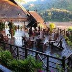 Terrasse und Bar