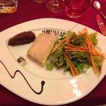 Foie gras avec sa confiture de figue