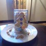 Arbolito de navidad de galleta