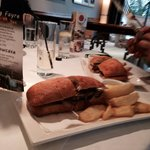 Steak sandwich at Beamish Park hotel