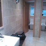 Spotless toilets!