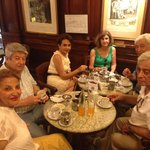January 18 in oldest cafe in buenos aires