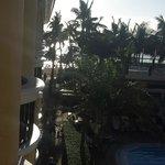 ocean view from corner of balcony