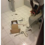 fixing the bathroom (3rd time)