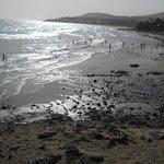 Spiaggia annessa all'hotel