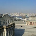 61 numaralı odadan muhteşem Galata manzarası