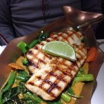Grilled Cobia