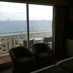 Hotel Santo Tomas Zimmeraussicht aus dem Exklusivzimmer