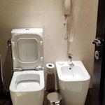 spooky square toilet