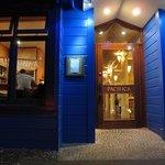 Entrada al restaurante Pacifica de Napier
