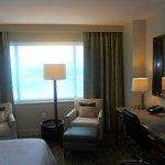 Standard room 16th floor freeway view