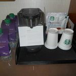Coffee station in the room .. daily replenished