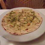 pizza bread with pesto