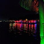 waterfront scene