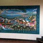 Parte del museo en el volcan masaya