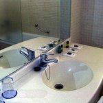 Bathroom, which included bath/shower and bidet