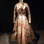 One of the dresses of a temporary exhibit.