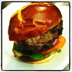 8oz beef burger, you have to try it!