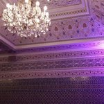 Impressive decoration. ..ceiling