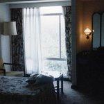 Mi habitación, 2 camas para mi solo, TV, Aire acondicionado/heladera, baño etc. My room, 2 sing