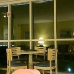 Living Room at Night in Rm Type LNS