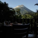 Arenal from the Breakfast Table