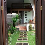 Entry to Pool Villa 3
