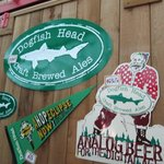 Dogfish Brewery signs