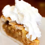 Apple Pie with Whipped Cream