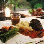 Fillet mignon at dinner - Friday Grill Night