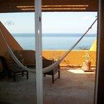 Room terrace with hammock.