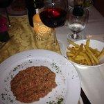 Outstanding Steak Tartare!