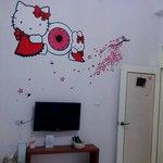 可愛的kitty房間