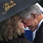Bill and Hillary  w/ Jefferson Hotel Umbrella